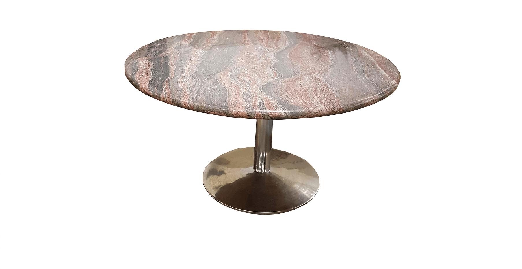 Breakroom Table   DESKS-54GRANITE-ROUNDT