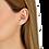Thumbnail: Mono boucle d'oreille Menottes dinh van R8 or blanc et diamants
