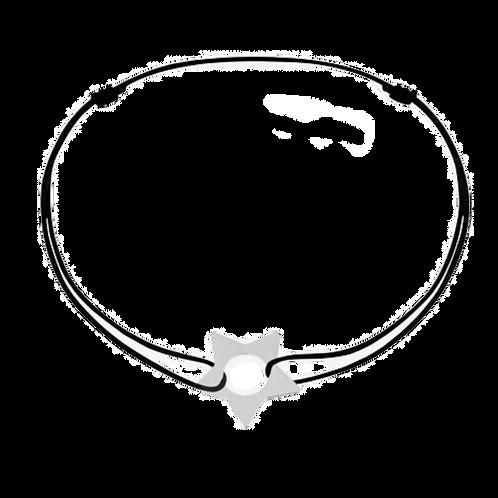 Bracelet sur cordon Etoile