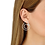 Thumbnail: Créoles Menottes dinh van R27,5 or blanc et diamants