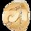 Thumbnail: Bague Menottes dinh van R12 or jaune et diamants