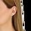 Thumbnail: Mono boucle d'oreille Menottes dinh van R8 or jaune et diamants