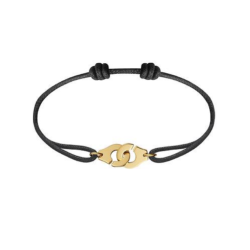 Bracelet sur cordon Menottes R10 dinh van, Or jaune