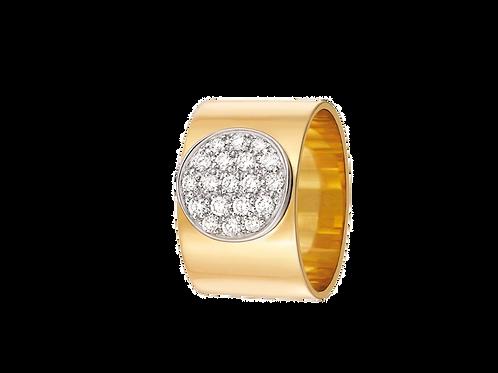 Bague Anthea en Or jaune et diamants