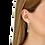 Thumbnail: Pendants d'oreilles Menottes dinh van R10 or blanc et diamants