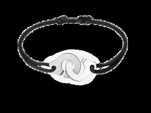 Bracelet Menottes R15 en argent