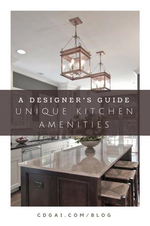Unique Kitchen Amenities
