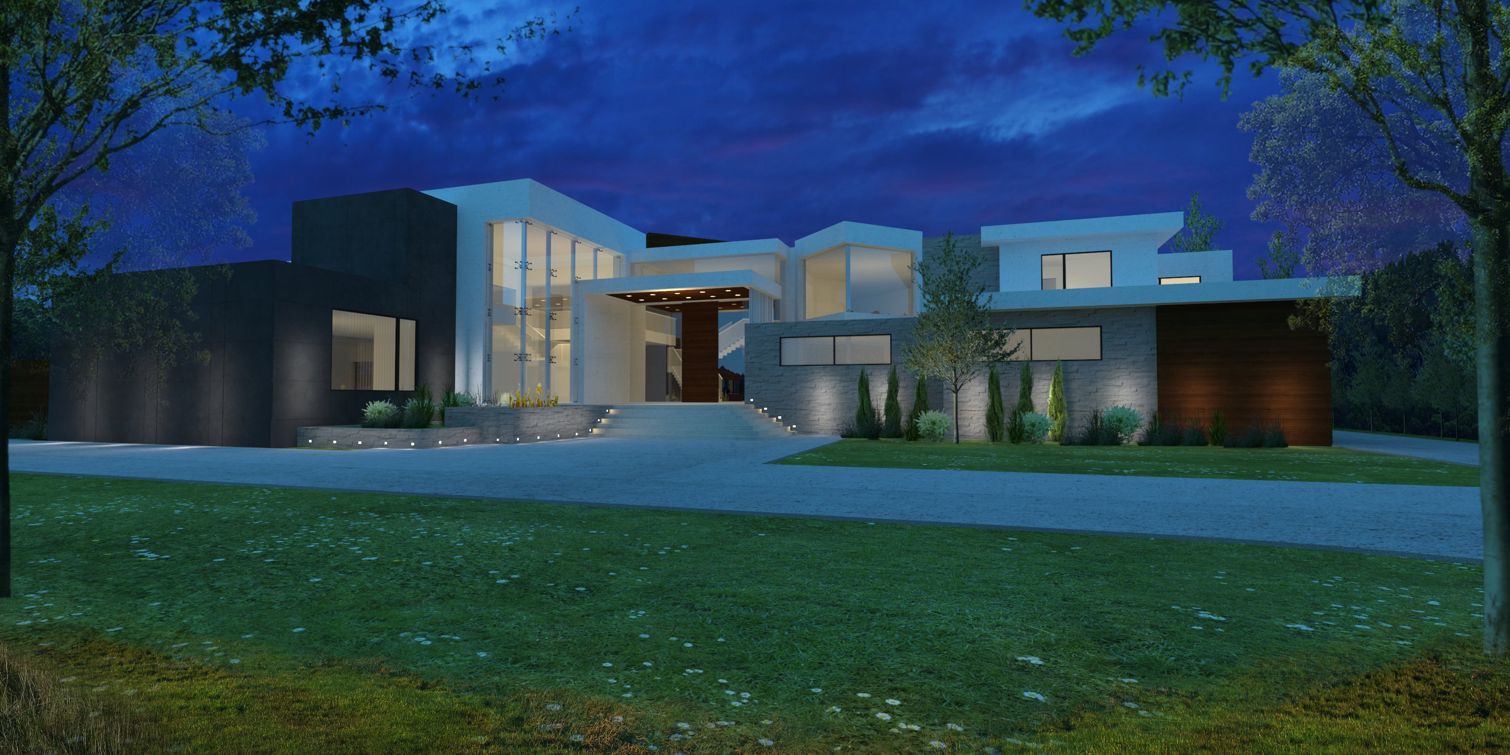Contemporary night rendering