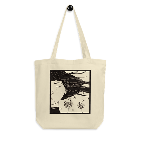 WIND; 4 elements - Eco Tote Bag (multiple colours available)