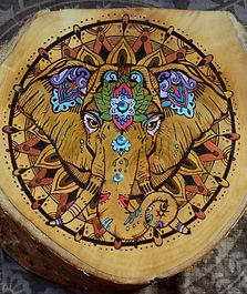Festive Elephant | Indian Elephant | Mandala