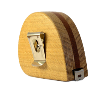 Inlaid OAK Tape Measure (Personalisation available) MADE TO ORDER