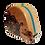 Thumbnail: 3m - 9ft long, CHERRY Tape Measure, One-off Design: Mandala