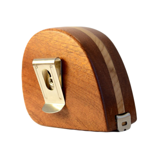 Inlaid MAHOGANY Tape Measure (Personalisation available) MADE TO ORDER