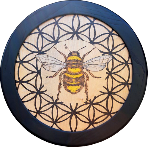 Bee - Flower of Life