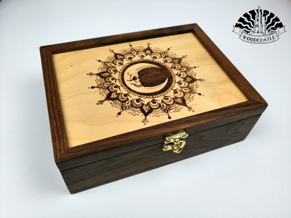 Moon of Skulls - keepsake box