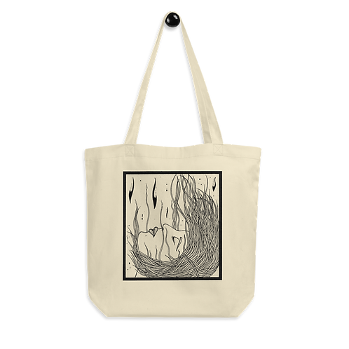 FIRE; 4 elements - Eco Tote Bag