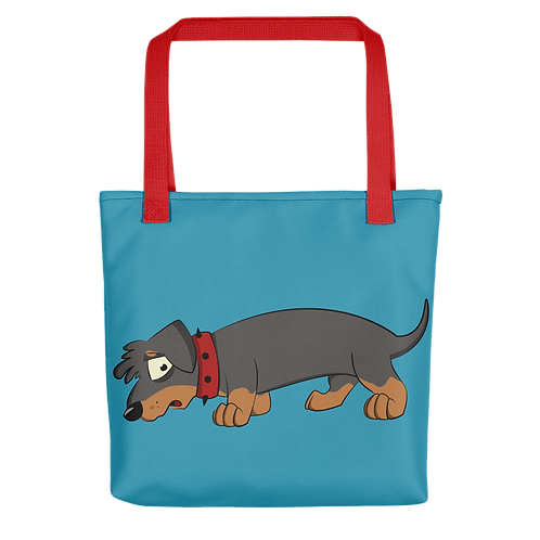 Doggo - Tote bag (multiple strap colours available)