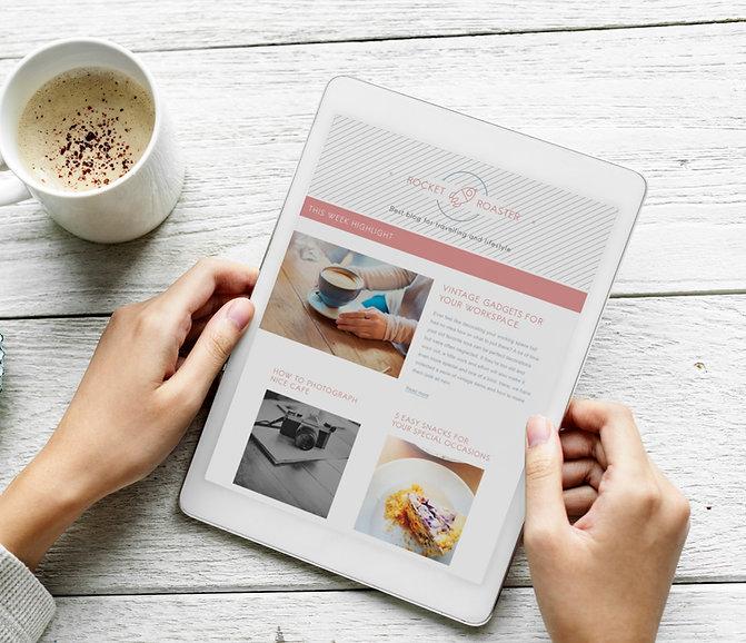 Conceptiond'un site Blog