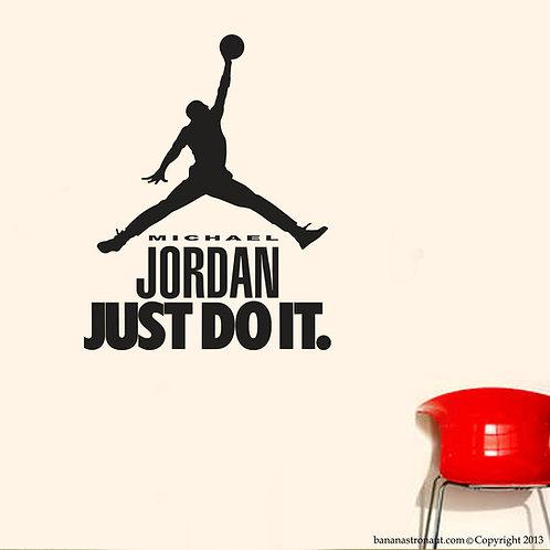 Air Jordan Nike Just Do It Wall Decal