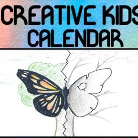 Creative Kids Calendar 2021
