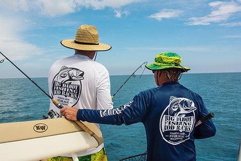 Big Daddy Fishing Rod Racks Long Sleeve Shirt