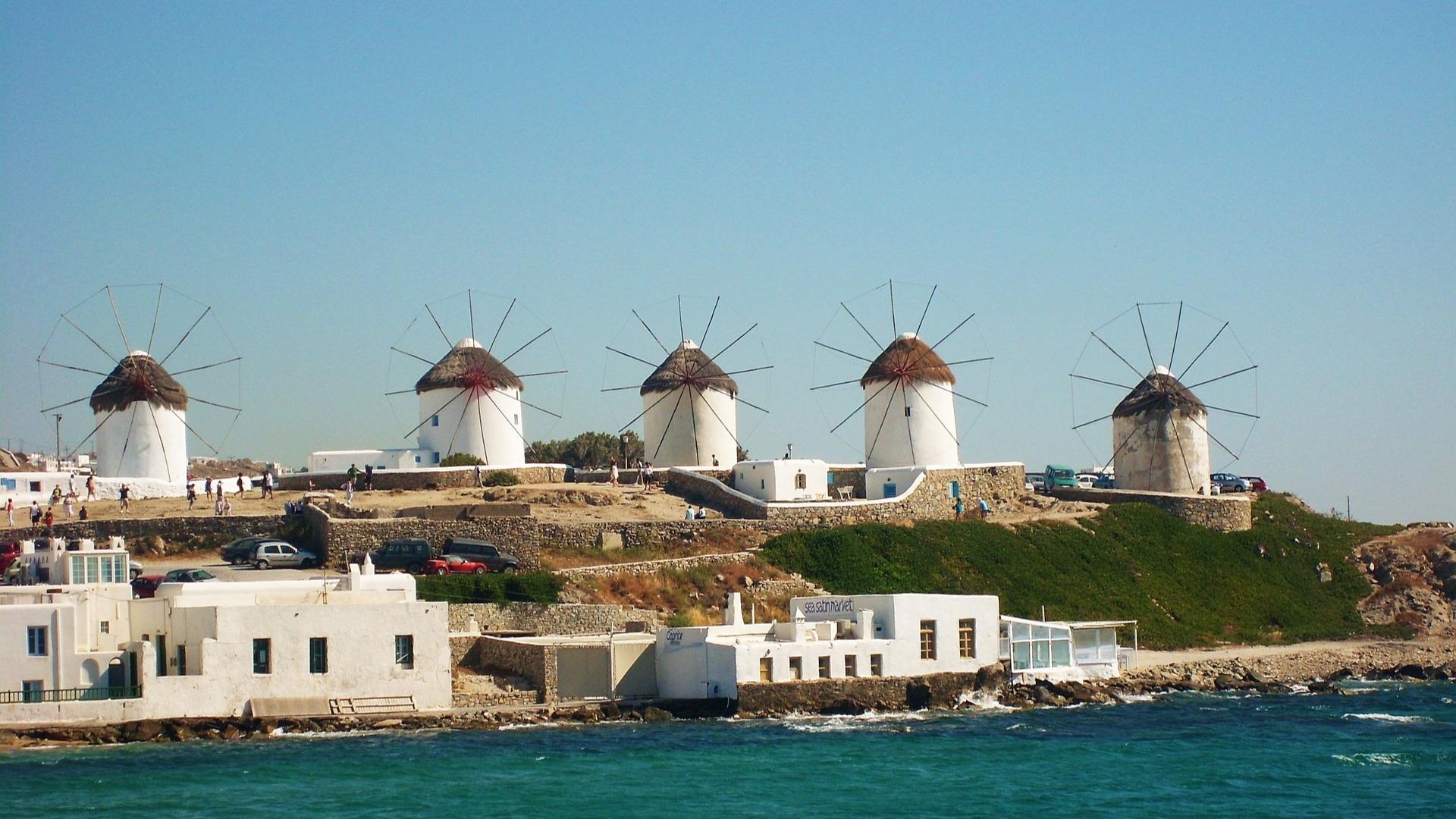 Mykonos-molinos