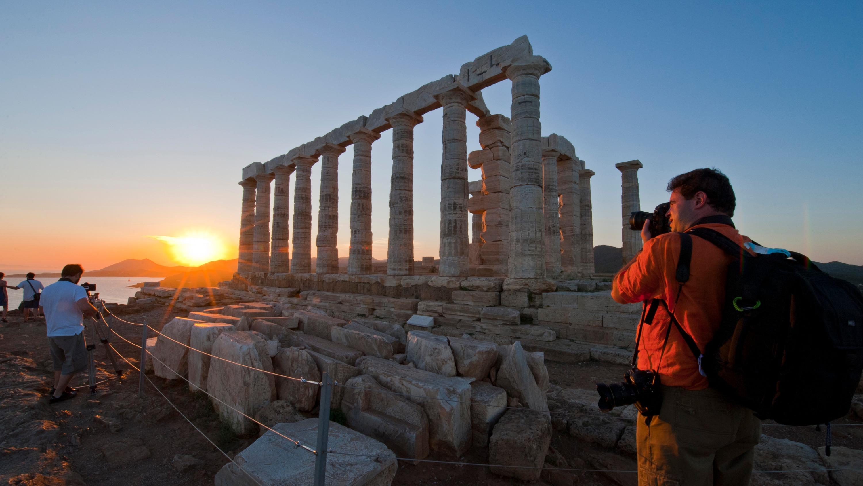 Atenas-Sounio-atardecer