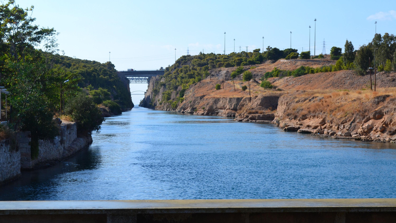 Peloponeso-Canal-de-Corinto