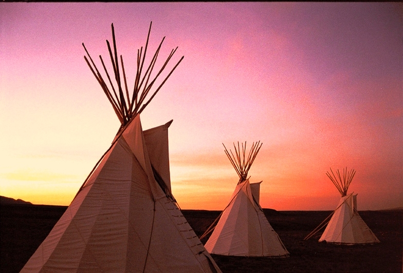 Cheyenne Elder Tipi Camp
