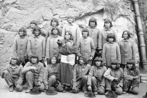 Hopi prisoners at Alcatraz
