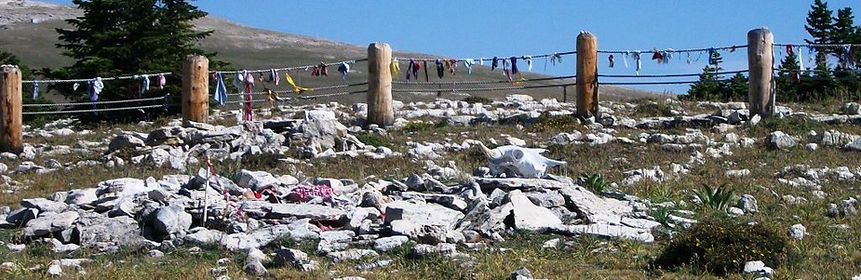 Visit the Medicine Wheel in he Bighorn Mountains with Go Native America and learn its real tribal origins