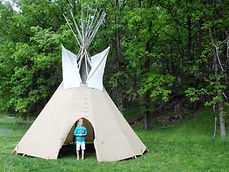 Native tipi tours for all ages with NDN2RS