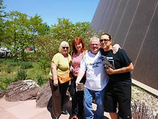 NDN2RS tour members with their Native American guide