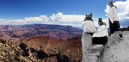 The Grand Canyon is the Hopi Place of Emergence - visit with Go Native America