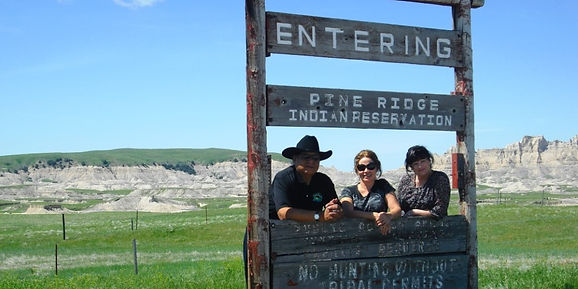 Visit Pine Ridge Indian Reservation - modern day home of the Lakota Sioux, with Go Native America