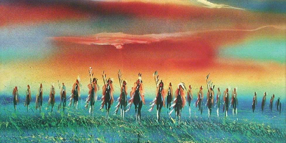 Meet with Lakota Sioux Indians on a Native American vacation
