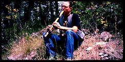 Native American Flute in the Black Hills