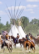 Take a horseback ride at the Little Bighorn