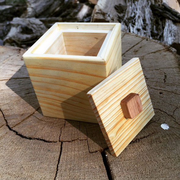 Small Pine Box