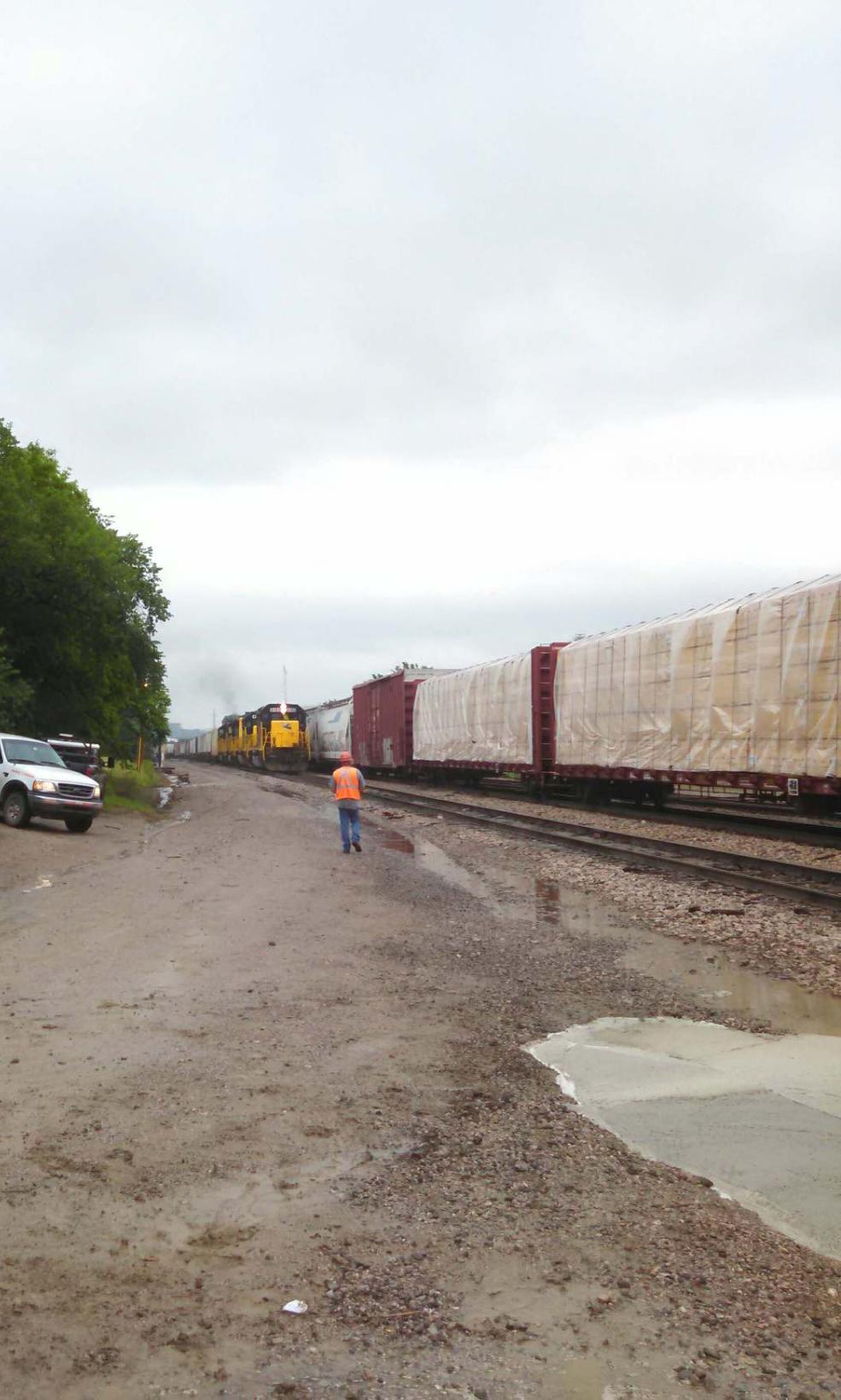 BNSF Railroad Crossing