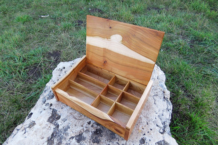 Plum Wood Jewlery Box