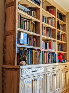 Custom Ash Bookshelf