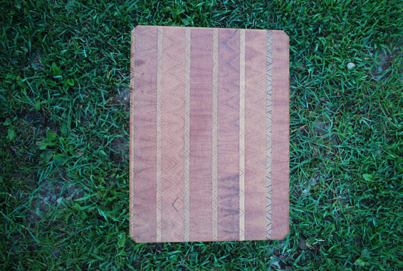 Cherry and Oak End Grain Cutting Board