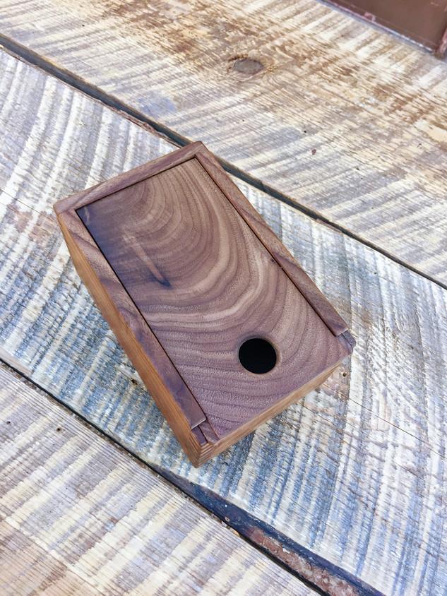 Walnut Memory Box