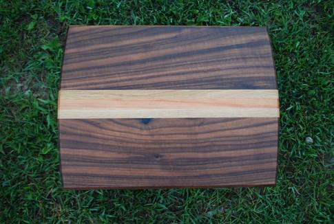 Walnut, Oak, and Cherry Cutting Board
