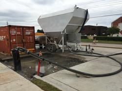 Efficient Cellular Concrete Pumping