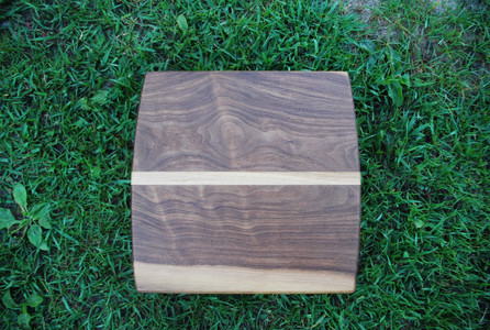 Walnut and Oak Long Grain Cutting Board