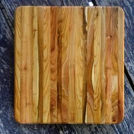 Plum Edge Grain Cutting Board