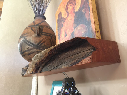 Live Edge Floating Shelves
