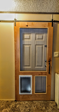 Sliding Barn Screen Door